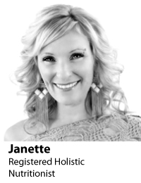 Janette - Registered Holistic Nutritionist